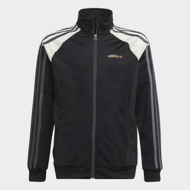 Youth Originals Black adidas SPRT Graphics Track Jacket