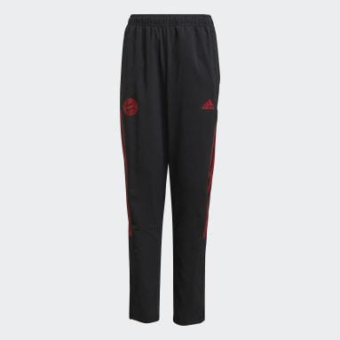 Pantalon de présentation FC Bayern Tiro Noir Enfants Football