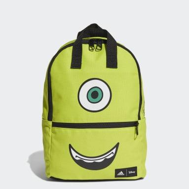 Kids 4-8 Years Sportswear Green Monster Backpack
