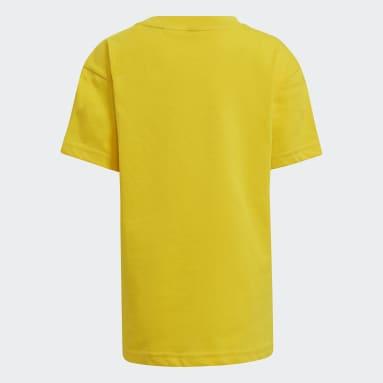 T-shirt adidas x Classic LEGO® jaune Enfants Entraînement