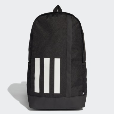 Lifestyle Black Essentials 3-Stripes Backpack