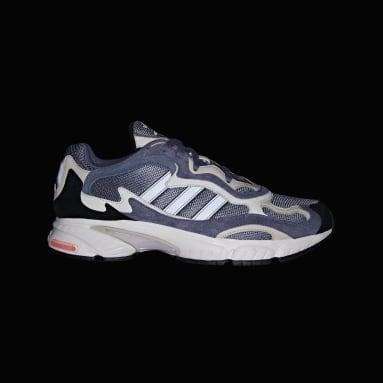 Men Originals Blue Temper Run Shoes
