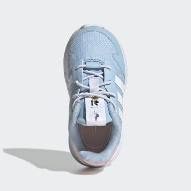 Infant & Toddler Originals Blue ZX 1K Shoes