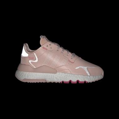 Meisjes Originals Roze Nite Jogger Schoenen