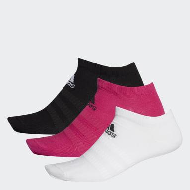 Tennis Low-Cut Socken, 3 Paar Weinrot