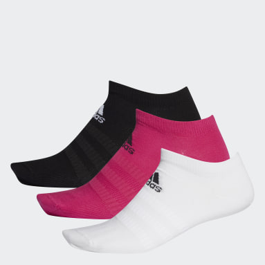 Tenis Purpurová Ponožky Low-Cut – 3 páry