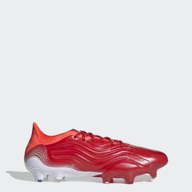 Calzado de fútbol Copa Sense.1 Terreno Firme Rojo Hombre Fútbol