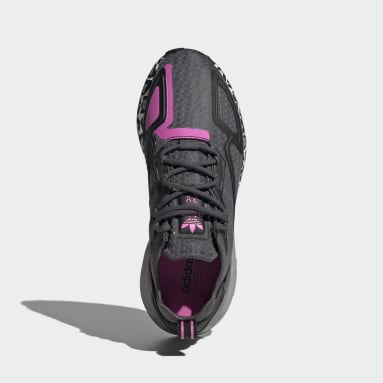 Frauen Originals ZX 2K Boost Schuh Grau