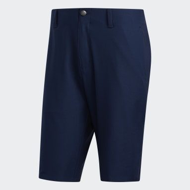 Men's Golf Blue Ultimate365 3-Stripes Competition Shorts