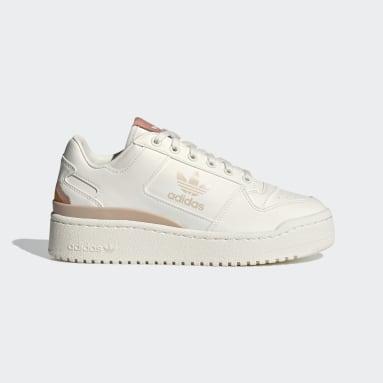 Frauen Originals Forum Bold Schuh Weiß
