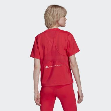 Kvinder adidas by Stella McCartney Pink aSMC TPR L TEE