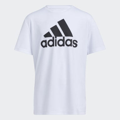 Youth Training White Performance Tee (Extended Size)