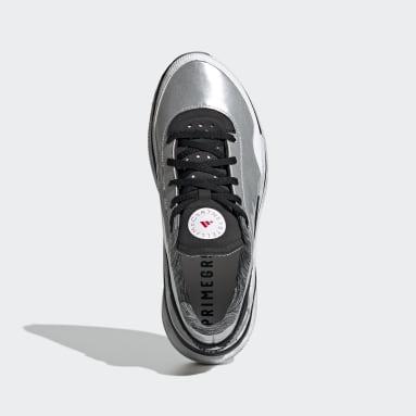Women Running Silver adidas by Stella McCartney Earthlight Shoes