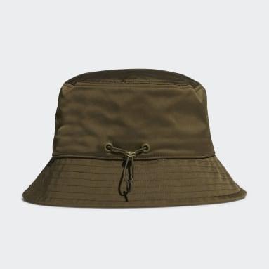 Y-3 Yeşil Y-3 Classic Bucket Şapka