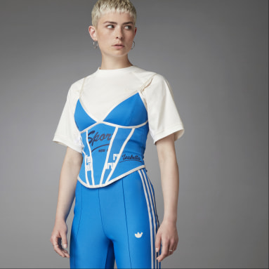 Top Corset Beckenbauer Blue Version Azul Mujer Originals