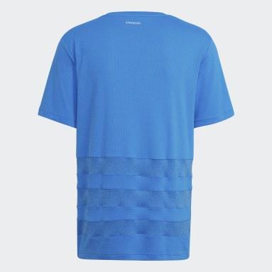 Men Rugby Blue LEIN PERF TEE