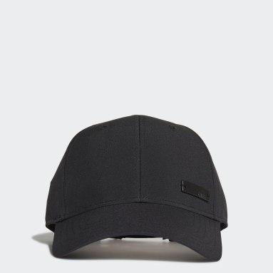 เทรนนิง สีดำ หมวกเบสบอล Lightweight Metal Badge