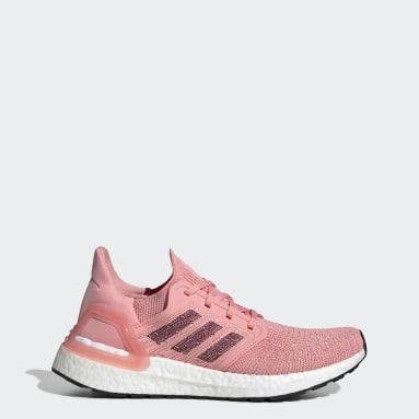 Women Running Pink Ultraboost 20 Shoes
