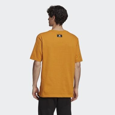 T-shirt adidas Sportswear Future Icons Logo Graphic Orange Hommes Sportswear
