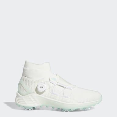 Women Golf White ZG21 Motion Primegreen BOA Mid Golf Shoes