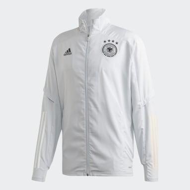 Männer Fußball DFB Präsentationsjacke Grau