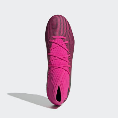 Women Football Pink Nemeziz 19.3 Firm Ground Boots