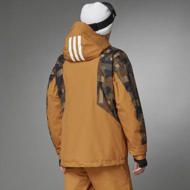 Men TERREX Brown Resort Two-Layer Insulated Jacket