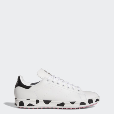 Golf White Stan Smith Primegreen Limited-Edition Spikeless Golf Shoes