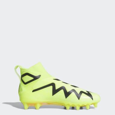 Men's Football Yellow Freak Ultra 21 Cleats