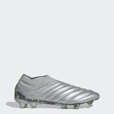 Calzado de fútbol Copa 20+ Terreno Firme Plata Hombre Fútbol
