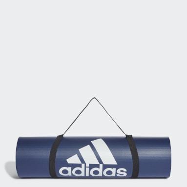 Gym & Training Blue Fitness Mat