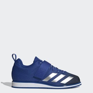 Vzpieranie modrá Vzpieračská obuv Powerlift 4