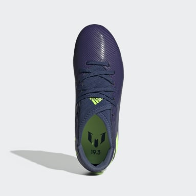 Boys Football Blue Nemeziz Messi 19.3 Firm Ground Boots