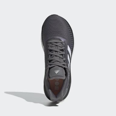 Zapatillas Solar Drive 19 Gris Mujer Running