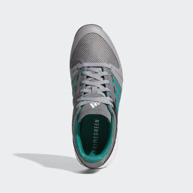 Men's Golf Grey EQT Primegreen Spikeless Wide Golf Shoes