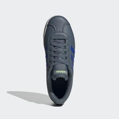 Kids Sport Inspired Green VL Court 2.0 Shoes