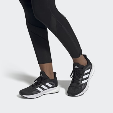 Zapatilla SolarGlide ST 4 Negro Mujer Running