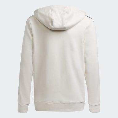 Sweat-shirt adidas SPRT Graphics Blanc Enfants Originals