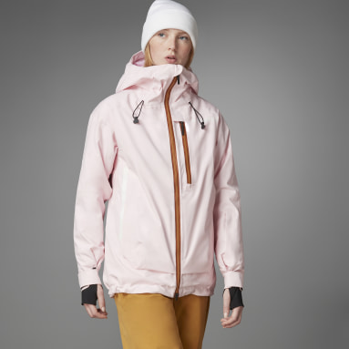 Women Winter Sports Pink Terrex MYSHELTER Snow 2-Layer Insulated Jacket