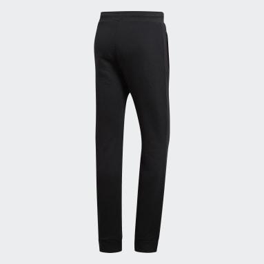 Men Originals Black Trefoil Essentials Pants