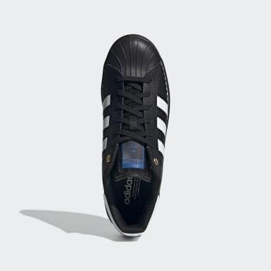 Men Originals Black Superstar OT Tech Shoes