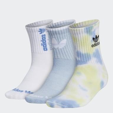 Women's Originals White Colorwash Quarter Socks 3 Pairs