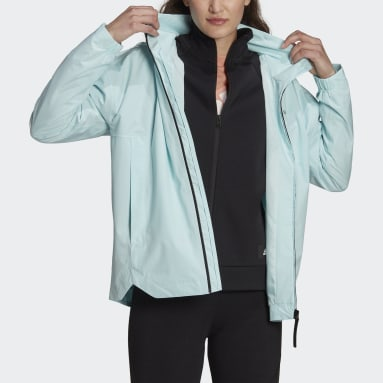 Giacca Traveer RAIN.RDY Verde Donna City Outdoor