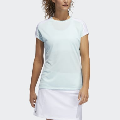 Polo Colorblock Primeblue HEAT.RDY Verde Mujer Golf