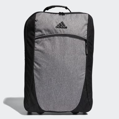 Men Golf Black Rolling Golf Travel Bag