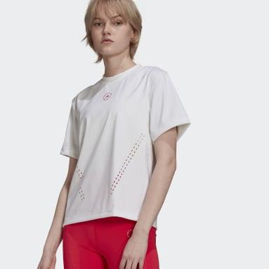 Women Training White adidas by Stella McCartney TruePurpose Loose Tee