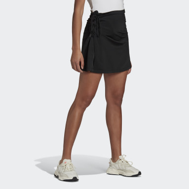 Women Originals Black Laced Skirt