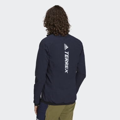 Men TERREX Blue Terrex Primaloft Hybrid Insulation Jacket