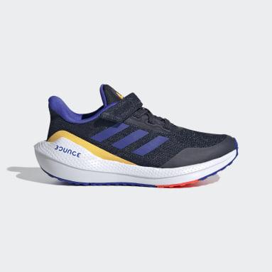 Kids 4-8 Years Running Blue EQ21 Run Shoes