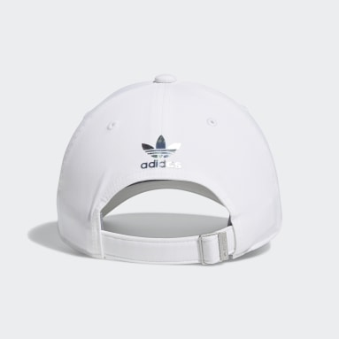 Women's Originals White Iridescent Trefoil Hat